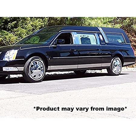 -Stainless Steel ROCKER PANEL 2.25 Width, extended Fits 2006-2011 CADILLAC DTS HEARSE