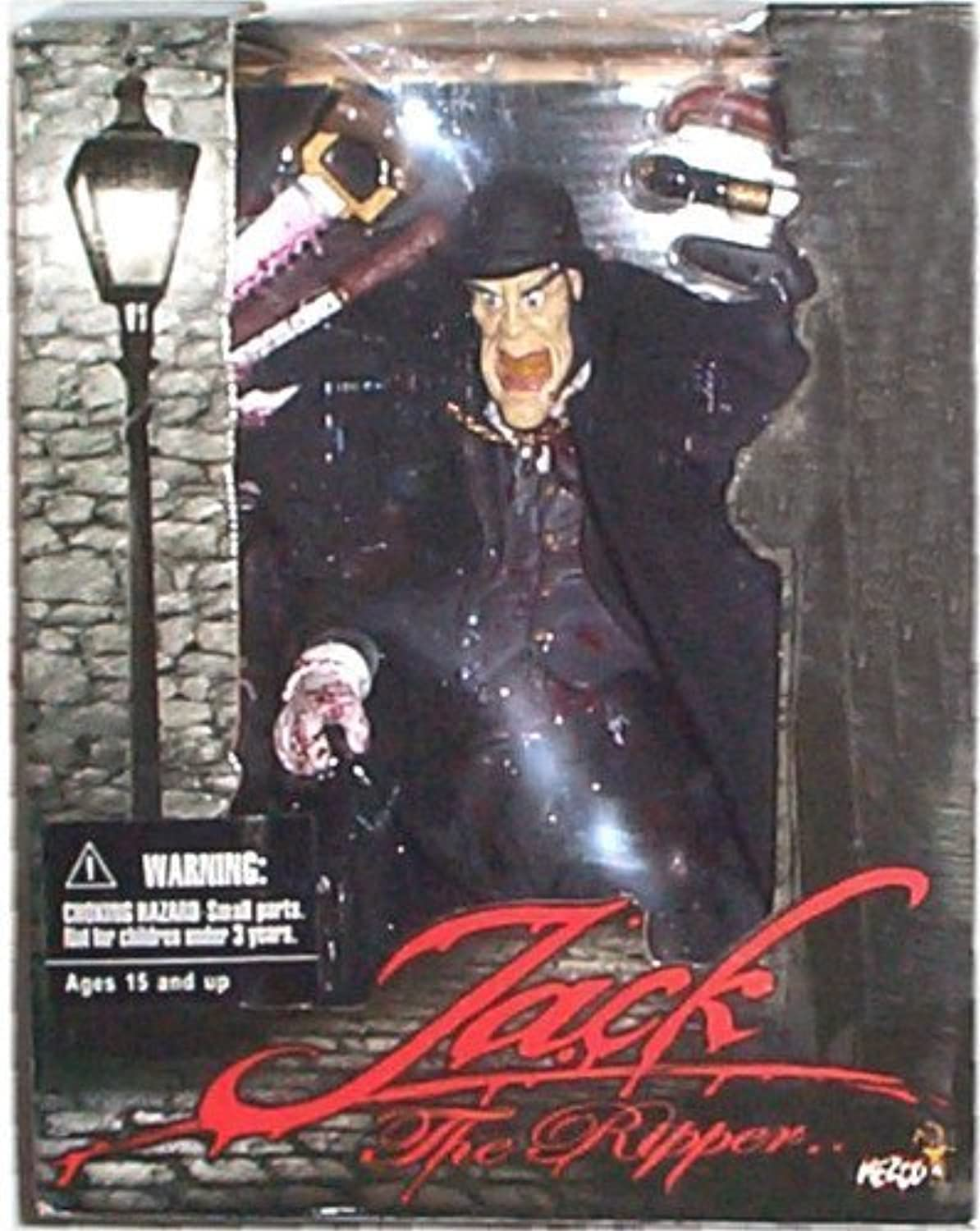 Mezco - Jack The Ripper action figure w accessories - Open Mouth Derby Hat Variant (Mature Collectors  15+) by Mezco