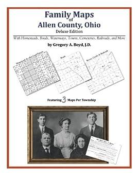 Family Maps of Allen County Ohio