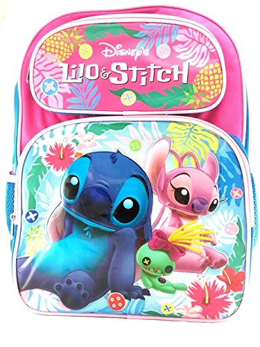 Disney Lilo and Stitch 16' Girls/Boys Large School Backpack