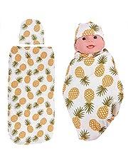 Antywstrząsowa chusta do noszenia dzieci, pochłaniająca pot chusta do noszenia dzieci Śliczna do rekwizytów fotograficznych na okres od 0 do 3 miesięcy do codziennego noszenia(Small pineapple)