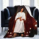 VirgieBSmith Lil Way-ne Tha Carter Fluffy Bed Blankets for Sofas,Lightweight Wool Blankets,Comfortable Throwing Blankets,Soft Blankets,Flannel Blankets,Four Seasons Nap Warm Blankets