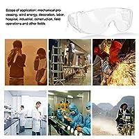 保護メガネ、安全メガネ屋外活動用の透明レンズによる防水効果的な耐衝撃性