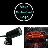 Custom Logo Car LED Projection Light Warning Tail Logo Projector Auto Brake Parking Lamp