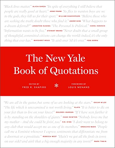 The New Yale Book of Quotations