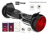 Hooboard Sport - Prima Sport Smart Auto Balance Monopattino, Hoverboard Elettrico, con Certificazione UL 2272, 800 WATT, LG batteria, impermeabile, antipolvere, BORSA INCLUSA