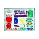 Bloques de construcción electrónicos para niños Juguete de ortografía Juguetes de plástico Juguete de descompresión para Adultos Rompecabezas Productos (Multicolor) -BCVBFGCXVB