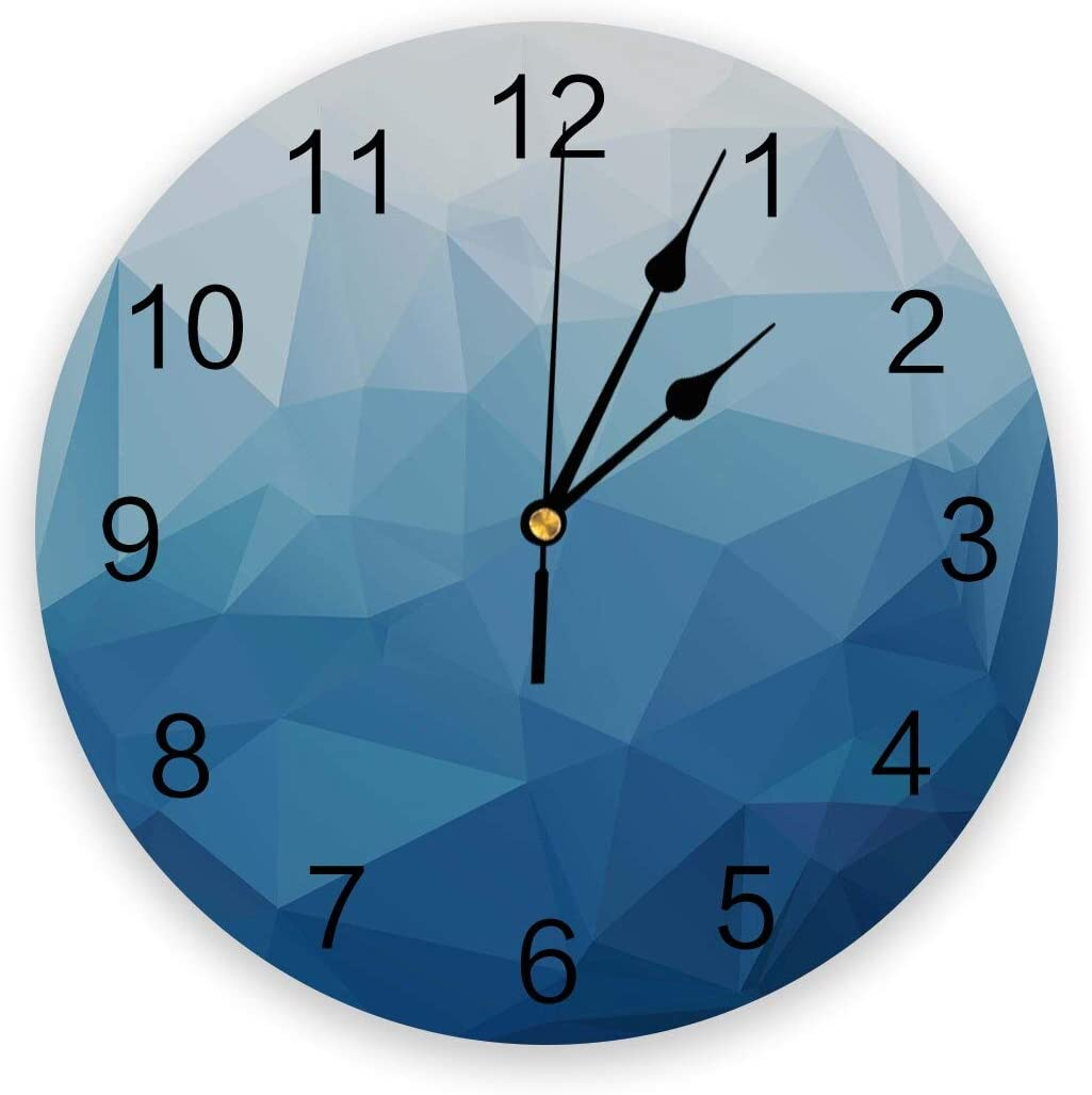 Retro Wall Clock Silent Clocks Tria Decorative Non-Ticking Weekly update Special price