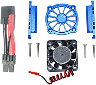 Gpm Racing Traxxas 1 10 Maxx Monster Truck89076-4 Aluminum Alloy Motor Radiator With Fan Blue Toys And Hobbies,Car Model,Gpm Racing Motor Heat Sink W Cooling Fan For Traxxas 1 10 Maxx Rc Truck Car