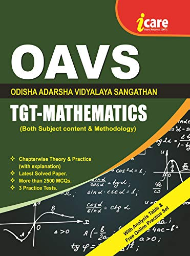 OAVS TGT MATHEMATICS Recruitment Examination (English Edition)