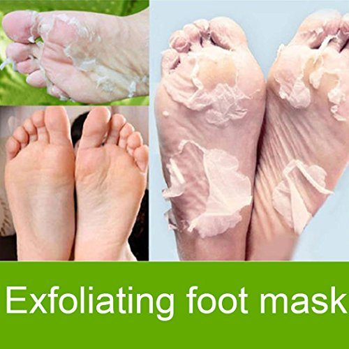 Yukio Hornhaut-Entfernersocken Feel Well, 1 Paar, 2 St peeloff Fußmaske Haut abziehen