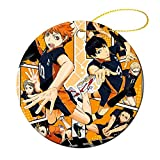 YHT Christmas Ornament Porcelain Haikyuu Round Ceramic Ornaments Collection Gift