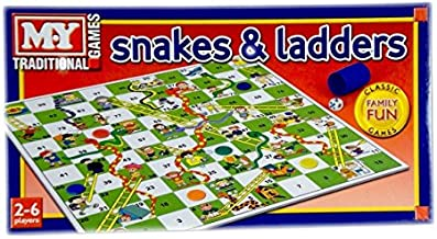 KandyToys Snakes & Ladders Game