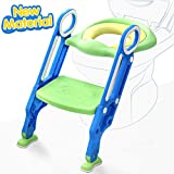 ADOVEL Potty Training Seat with Step Stool Ladder for Toddler, Toilet Trainer for Boy &...