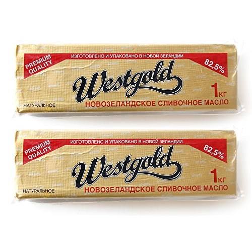 ニュージランド産 グラスフェットバター無塩1kg 冷凍 【2個セット】