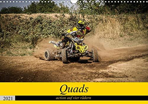 Quad`s action auf vier rädern (Wandkalender 2021 DIN A3 quer)