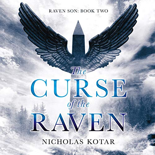 The Curse of the Raven audiobook cover art