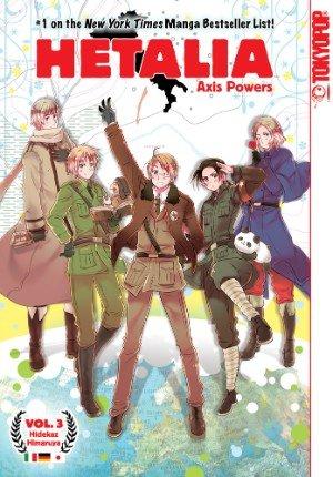 hetalia axis powers manga - 4