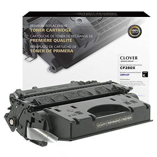 Clover Remanufactured Toner Cartridge   HP 80X   CF280X   Black