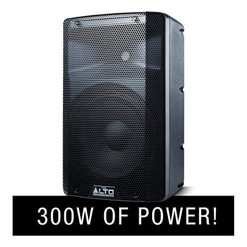 ALTO Professional TX210 – Altavoz Autoаmplificado de 2 Vías, 10 Pulgadas y 300 W con Crossover Activo, Conectividad para una Óptima Funcionalidad y Limitador Analógico Integrado