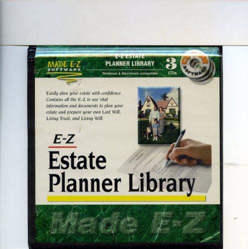 E-Z Estate Planner Library (3 CD-ROM Set)