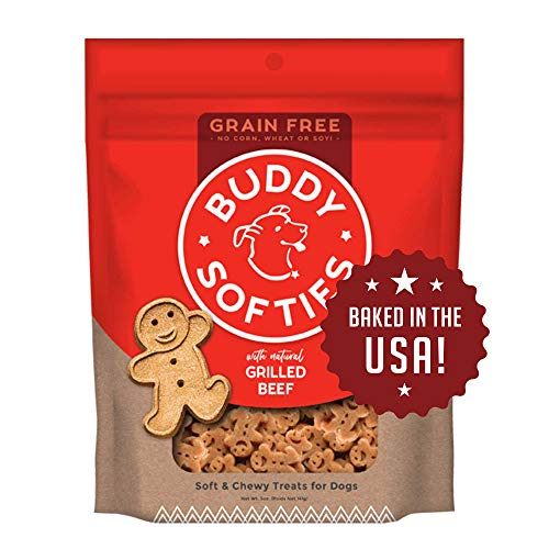 Buddy Biscuits Grain Free Soft & Chewy Healthy Dog...
