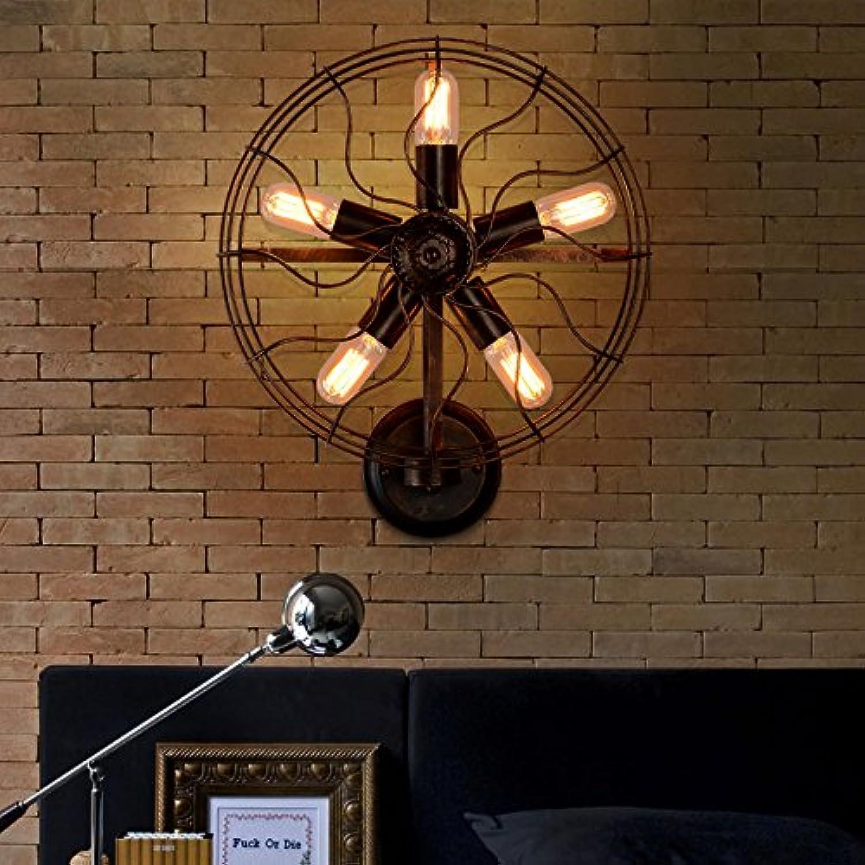 StiefelU LED Wandleuchte nach oben und unten Wandleuchten Antike Lampen antike Lampen im Restaurant Road Industrial Air Fans, Leiter der 5.