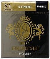 CAムAS CLARINETE - Rico Grand Concert Select (Evolution) (Dureza 3 ス) (Caja de 10 Unidades)