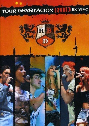 Rbd - Tour Generacion Rbd En Vivo [USA] [DVD]