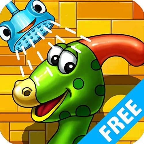 Baña y viste al Dino (FREE)- juegos infantiles de aprendizaje educativo para las niñas y los niños gratis