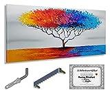 Monica Mirafiori I Cuadro 'Dragon Tree' I 140x70 cm I Cuadro pintado a mano I Pintura...
