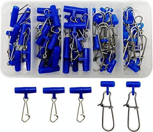 Schwerlast-Verbindungsreißverschluss, Drehgelenk mit Edelstahl-Angelknöpfen, Angelausrüstung, Zubehör