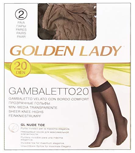 Lot 20 Gambaletto 20 DEN Noir * 2 paires 1 à