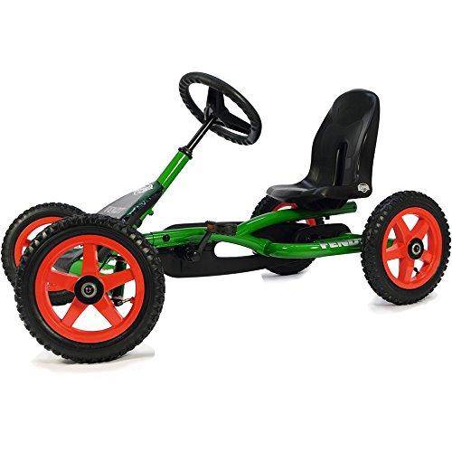 BERG Gokart Buddy Fendt | Kinderfahrzeug, Tretauto mit Optimale Sicherheid, Luftreifen und Freilauf, Kinderspielzeug geeignet für Kinder im Alter von 3-8 Jahren