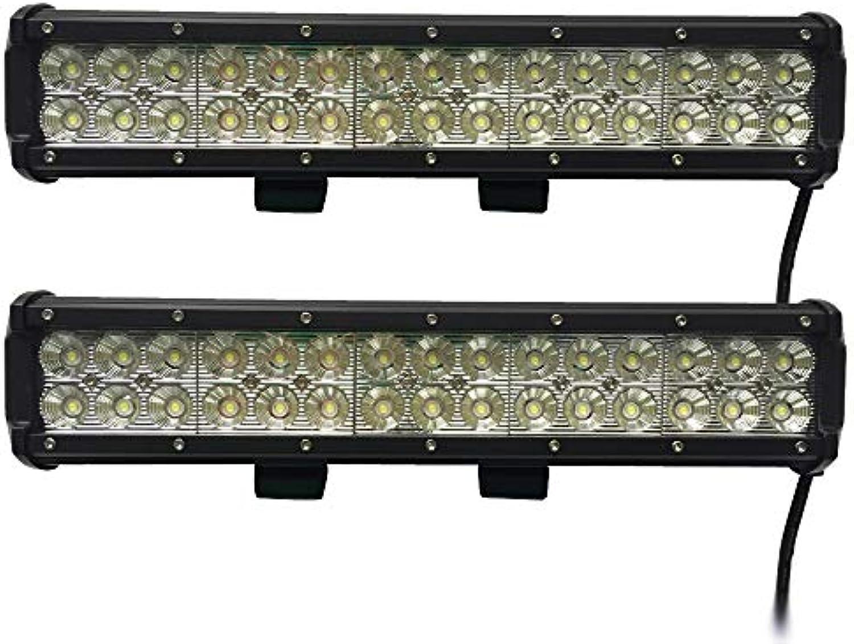 Leetop 2X 90W LED Arbeitsscheinwerfer IP67 Flutlicht Reflektor Work Light Bar Offroad Traktor Scheinwerfer Arbeitslicht Arbeitslampe 12V 24V