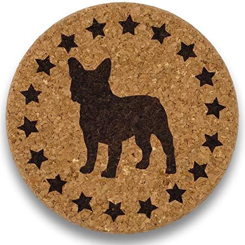 French Bulldog Gift - Dog Lover Cork Trivet for Mom, Dad, Men or Women