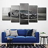 baokuan86 Póster HD 5 Arte de Pared Bugatti Tuning 2018 Veyron decoración...