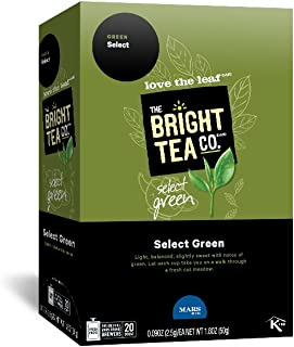 THE BRIGHT TEA CO., Select Green Tea Freshpacks for MARS DRINKS FLAVIA Brewer, 20 Packets