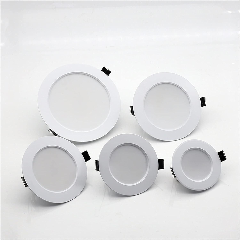 HSHHJSH 10PCS LED Recessed Ceiling Limited price sale Spotlights Light 70% OFF Outlet Wat Bathroom