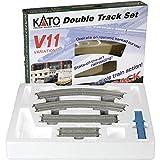 Kato-Unitrack 20-870-1 Variations Set V11 - Set de vías de tren en miniatura (27 tramos) [importado de Alemania]