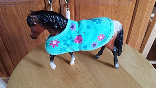 Breyer Pony with handmade factory Reeves blanket