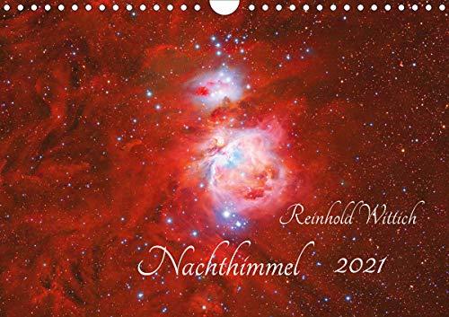 Nachthimmel (Wandkalender 2021 DIN A4 quer)