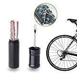 Kit de reparación de neumáticos de bicicleta ZOOENIE, sin tubeless fijo, con 5 tiras para neumáticos de bicicleta de montaña y bicicletas