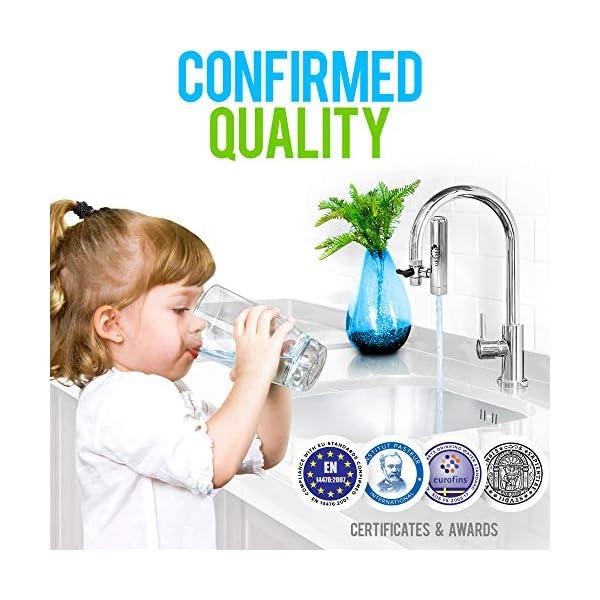 GEYSER EURO – Filtro de agua para grifo, filtro domestico, purifiador de agua.
