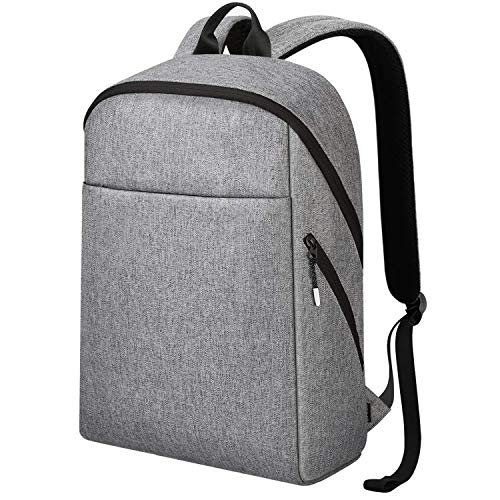 Zaino pc 15.6 pollici, REYLEO Zaino porta pc Backpack Laptop Borsa resistente all'acqua uomo e donna ideale per scuola e business ( Grigio )