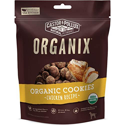 Castor & Pollux Organix Organic Chicken Flavor Cookies Dog Treats, 12-oz bag