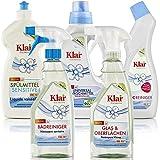 Detergentes Ecológicos Klar de origen vegetal sin Fragancias Pack de 5 Productos que cubren toda la limpieza de tu casa…