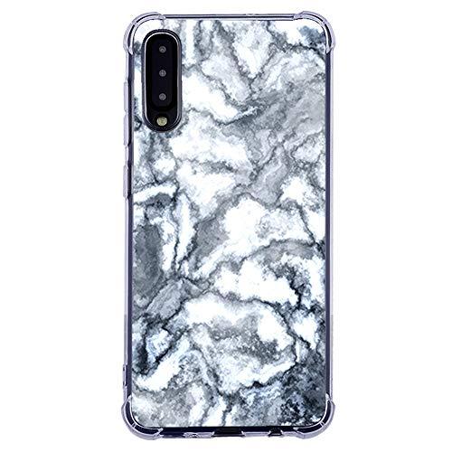 Samsung Galaxy-A50-Durchsichtig-Schutzhülle-Tasche Marmor-Motiv-Süße-Muster Bunt Hülle Blumen-Handytasche-Handyhülle-Silikonhülle Bumper Clear Phone Case - TPU Schutzhülle für Samsung Galaxy A50-17