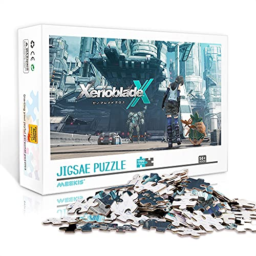 Jigsaw Puzzle 500 Pezzi Xenoblade Chronicles X 500 Pezzi Puzzle Adulti Puzzle Intrattenimento Giochi Per Famiglie Jigsaw Decorazione Per La Casa 52X38Cm