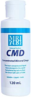 Concentrated Mineral Drops (CMD). 120ML. The Most Concentrated Liquid Trace Element in the World